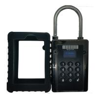 Buy cheap IC CARD GPS Tracking Padlock Long Working Time 5~13 Days 111*82*42mm from wholesalers