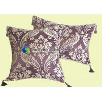 Buy cheap High-end Luxury Chenille Cushion , Printing Lace Pillow Soft Comfortable from wholesalers