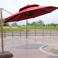 Buy cheap New design outdoor straight windproof sunbrella square patio umbrella from wholesalers