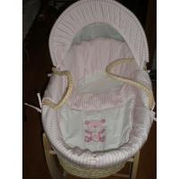 Buy cheap Maize baby basket with lining from wholesalers