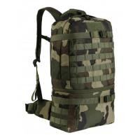 Buy cheap Army Green Molle Tactical Gear Backpacks For Hiking , Tactical Day Pack from wholesalers