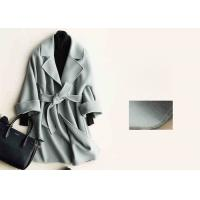 Buy cheap Soft Warm Handmade Wool Coat , Ladies Tailored Wool Coat Many Colors Available from wholesalers