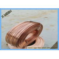 Buy cheap Copper Galvanized Binding Wire , Galvanized Barbed Wire 350 - 550 MPa Tensile Strength from wholesalers