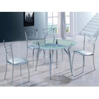 Buy cheap dining room furniture round dining table set modern T422-1 from wholesalers