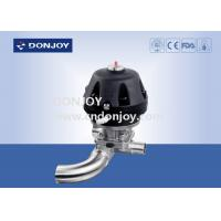 Buy cheap Pneumatic Plastic U type three way Diaphragm Valve with Welded Ends from wholesalers