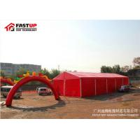Buy cheap Heavy Duty Marquee PVC Wedding Tent Clearspan Structures With Colourful Cover from wholesalers