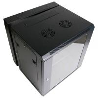 Buy cheap Safe Protection 12U Wall Rack Network Cabinet For Broadband Network 600 * 450mm from wholesalers