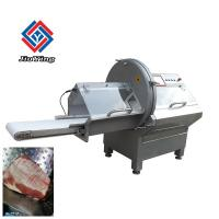 Buy cheap Automated Frozen Fish Slicer Machine / Industrial Sausage Cutting Equiment from wholesalers