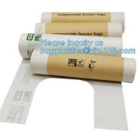 Buy cheap 100% Compostable Eco Friendly Food Waste Plastic Garbage Bag, Food Packaging Compostable Bag, 100% compostable food bag from wholesalers