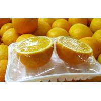 Orange Tray Hand Wrapper Machine , Manual Driven Food Packaging Machinery