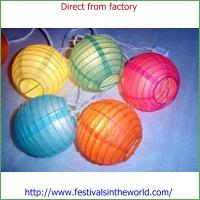 Buy cheap Wedding Paper Lantern, Rice Paper Lanterns from wholesalers