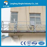 Buy cheap zlp630 electric suspended platform / zlp800 suspended rope platform / zlp construction gondola platform from wholesalers