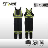 Buy cheap Canada x back reflective Overalls Or Coveralls OF polyester + cotton with padding CSA Z96-09 product
