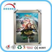 Buy cheap Competitive Advantage PET 3D Lenticular Poster UV Printing CMYK / Pantone Color from wholesalers