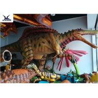 Buy cheap Indoor Display Giant Dinosaur Statue Mechanical Animatronic Realistic Dinosaurs from wholesalers