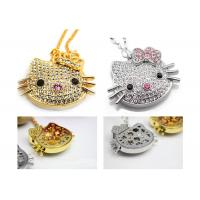 Buy cheap Jewelry  Hello Kitty Fancy USB Flash Pen Drive 8gb For Wedding Gift from Wholesalers