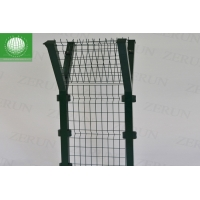 Buy cheap Long Lasting Barbed Wire Fence 2.7m Welded Mesh Panel PVC Coated from wholesalers
