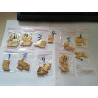 Buy cheap Brass type /Copper character and number 2x4x15 for coding ribbon machine to from wholesalers