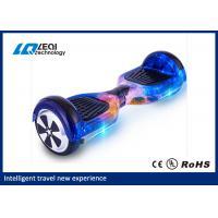 Fashionable 10 Inch Self Balancing Scooter 158w 20 Km Endurance Mileage