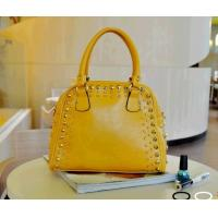 Buy cheap 2012 latest lady PU fashion handbags with rivet GED00023 from wholesalers