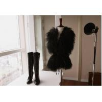 Buy cheap Women's Sheepskin Sheep Fur Vests Fur Coats Fur Jacket Europe Orders White Black 52Z product