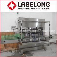 Buy cheap Ss Linear Liquid Filling Machine , Aseptic Bottle Filling Machine PLC Control from wholesalers
