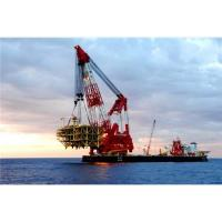 Buy cheap Belgium,Brazil floating crane sell charter supply crane barge 100T TO 5000T from wholesalers