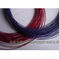 Buy cheap Blue / Red PVC / PU / PA Coated Wire Ropes For Gym Cable / Hanging Cable from wholesalers