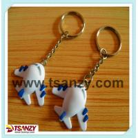Buy cheap 3D airplane shaped key chain/key tags/key charm product