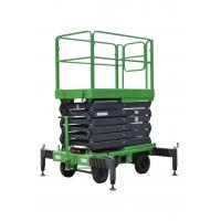 Buy cheap 7.5m Mobile Scissor Lift With Anti - Skid Platform 1.8 * 1m of 450kg of Capacity from wholesalers