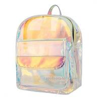 Buy cheap Young Lady Shiny Hologram Transparent Shoulder Bag Girl Makeup Organizer and Travel Bag from wholesalers