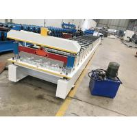 Buy cheap High Capacity Metal Roof Roll Forming Machine , Roofing Sheet Roll Forming Machine from wholesalers