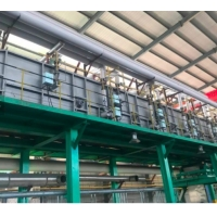 Buy cheap Electric Heating Automatic Bolts And Nuts PLC Hot Dip Galvanizing Line from wholesalers