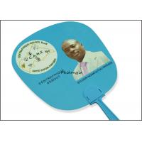 Buy cheap Election Campaign Gifts Plastic Hand Held Fans UV Offset Printing Optional Pantone Color product