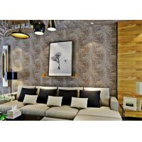 Buy cheap Embossed Modern Removable Wallpaper with Removable Vinyl Material 0.53*10M from wholesalers