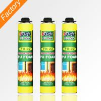 Buy cheap 500ml 750ml home construction fireproof polyurethane Foam fire proof spray foam insulation from wholesalers