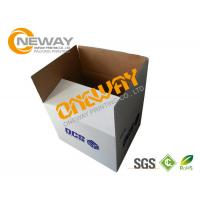 Buy cheap Corrugated Paper Carton Printed Packaging Boxes UVI Hot - Stamping Glossy Surface from wholesalers
