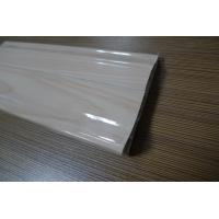 9 CM High PVC Skirting Board Covers Plastic Glossy Symmetrical Design