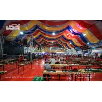 Buy cheap large exhibition arcum tent 40m for the beer festival in China from wholesalers