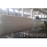 Buy cheap Chemical LPG Storage Pressure Vessel Tank For Military , Air Pressure Vessels from wholesalers