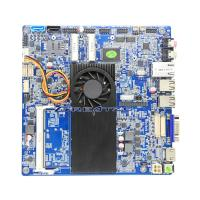 Buy cheap Celeron 1037U Thin Mini ITX Server Motherboard Max 8 GB RAM WIth LVDS , DC Power Embeded industrial Motherboard from wholesalers