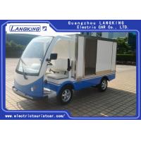 Buy cheap Closed Box Utility Electric Vehicle , Express Delivery Electric Transit Van 2 Seater from wholesalers