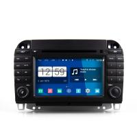 Buy cheap 7 2din android car dvd android 4.4.4 HD 1024*600 for Benz S class old with 4 Core CPU, Mirror link from wholesalers