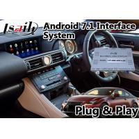 China Wifi / Mirrorlink / BT Android Car Navigation Box 1.2GHz For Lexus RC300 2019-2020 on sale