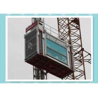 High Performance Construction Hoist Elevator For Bridge / Tower