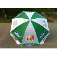 Buy cheap Custom Printing Outdoor Sun Umbrellas UV Protection For Holiday Activities from wholesalers