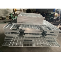 Buy cheap 32 X 5mm Stainless Steel Grating Hot Dip Galvanized Trench Drain Cover from wholesalers