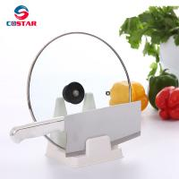 China Plastic kitchen pot lid rack for lid cover and knife on sale