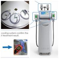 Buy cheap Cryolipolysis lipo cryo cryotherapy fat freezing machine cryolipolysis machine with 5 head from wholesalers