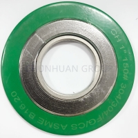 Buy cheap Green ASME B16.20 Spiral Wound Graphite Filled Gasket from wholesalers